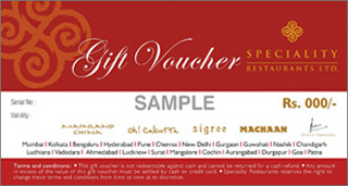 Speciality restaurants ltd highlights gift vouchers gift an experience from anywhere in the world negle Gallery
